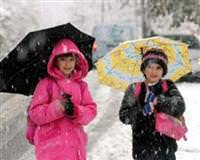 17 ilde okullara kar tatili
