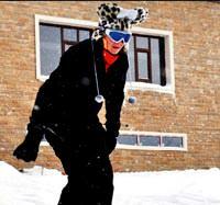Magazin haberleri pınar kayak yaptı baba kız kızak kaydı