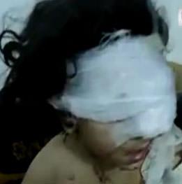 Suriyeli k�z �ocu�unun Esad isyan�