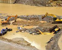Adana G�kdere Baraj� facia patlama