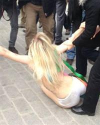 FEMEN Grubu gözaltında