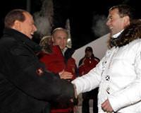 Berlusconi soçi de ortaya çıktı
