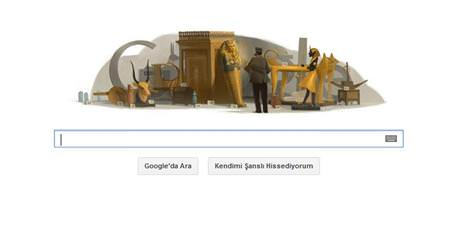 Google Howard Carter� unutmad�