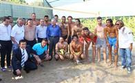 Yıldız futbolcular Çeşme'de buluştu