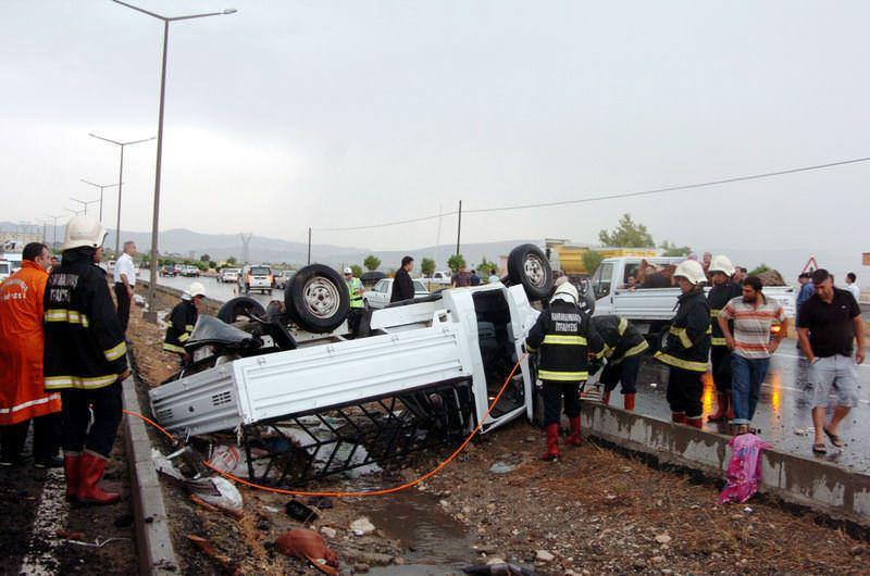 Kahramanmara� trafik kazas�