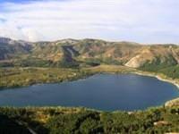 Krater g�l� gaz kabarc�klar� deprem