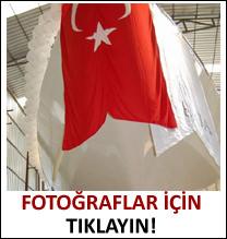 En büyük Türk yatı suya indi