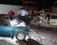 Ordu'da trafik kazas�: 3 �l�, 5 yaral�
