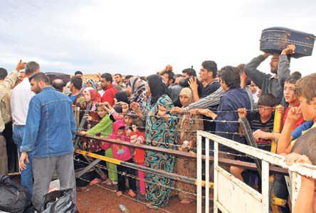 500 Suriyeli daha s���nd�