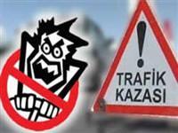 Bolu'da trafik kazas�: 2 �l�