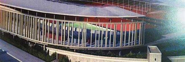 İşte Beşiktaşın yeni stadı