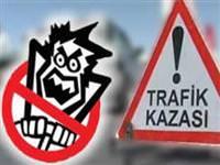 �zmir'de trafik kazas�: 1 �l�