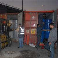 1,5 milyon litre kaçak akaryakıt yakalandı