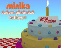 minika'dan tüm çocuklara unutulmaz bir doğum günü hediyesi