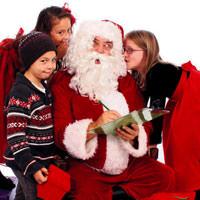 K���k �evrecilere Noel Baba'dan mektup var
