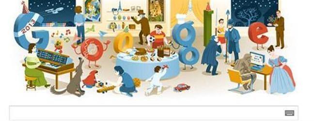 2012 Yılbaşı Gecesi doodle'ında Türkiye sürprizi