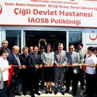 Atat�rk Organize Sanayi B�lgesi Poliklini�i a��ld�