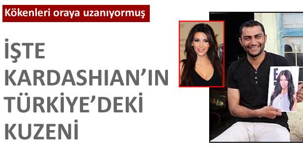 Kardashianın kuzeni Türkiyede