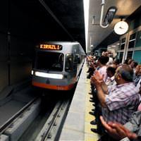 Ba�ak�ehir Metro Hatt� hizmete girdi