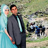 Yirmi günlük kocası öldürdü, ailesi izledi