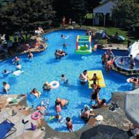 Klorlanmayan havuz bir�ok hastal�k ta��r
