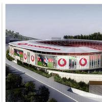Be�ikta�'�n yeni stad� Vodafone Arena olacak