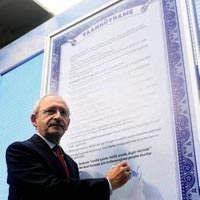 CHP'nin slogan�: Birle�tirici g��
