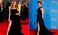 Angelina Jolie'yi taklit ediyormuş