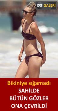 Sharapova'nın bikiniyle imtihanı