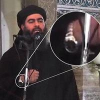IŞİD liderinin şok görüntüsü