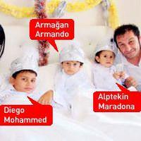 Diego Armando Maradona sünnet oldu!