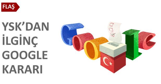 YSKdan ilginç Google kararı