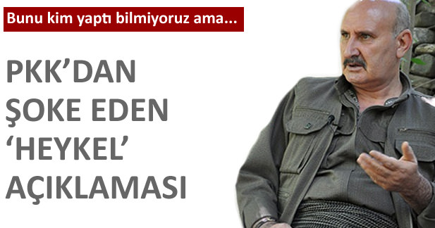 PKKdan �a�k�na �eviren heykel a��klamas�