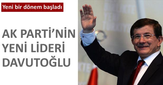 AK Parti'nin yeni lideri seçildi