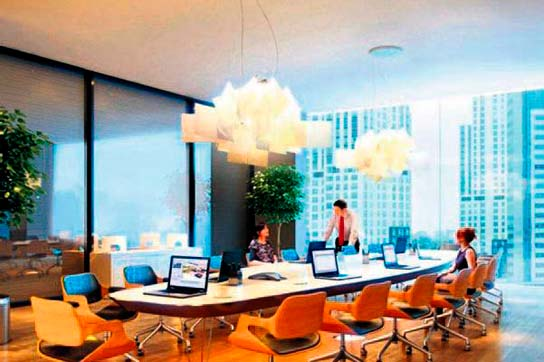 En yüksek ofis kiralar� Esentepe'de