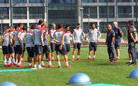 Danimarka ve İzlanda maçının hazırlıkları başladı