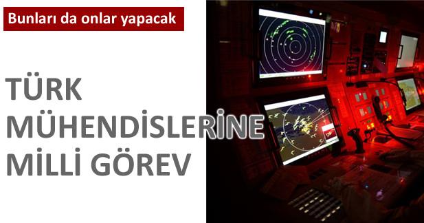 Türk mühendislerine milli görev