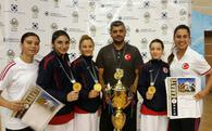 Karatecilerden 6 madalya