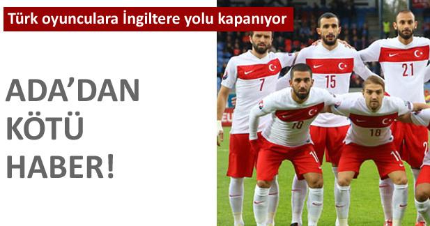 Türk oyunculara İngiltere yolu kapanıyor