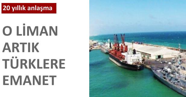 Mogadi�u Liman� art�k T�rklere emanet