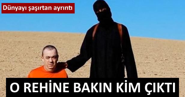 IŞİD'in elindeki rehine bakın kim çıktı!