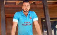 Trabzonsporlu futbolcu emniyette ifade verdi
