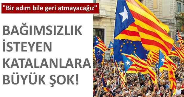 Katalanlara b�y�k �ok