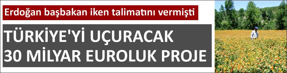 Türkiye'yi uçuracak proje