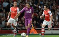 'Arsenal Galatasaray'a patladı'