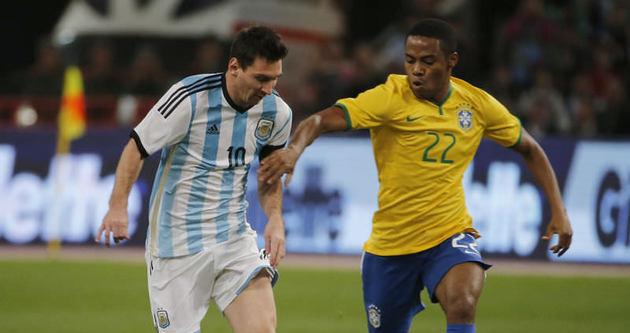 Brezilya, Arjantin'i rahat geçti