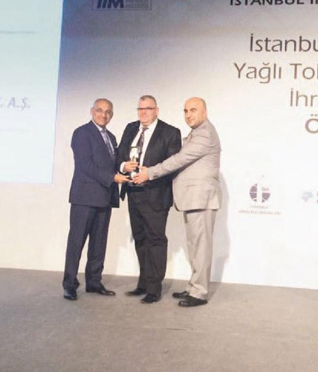 En başarılı ihracatçı ödülü MAY Tohum'un