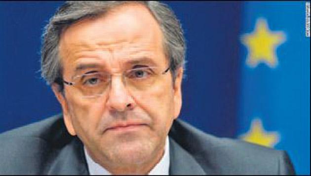 Samaras hükümetine kıl payıyla güvenoyu