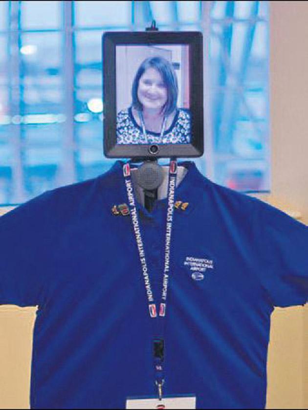 Havaalanına robot danışman