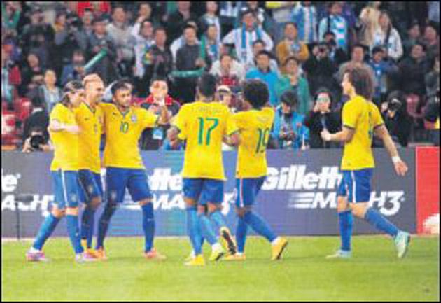 Brezilya kendine geldi